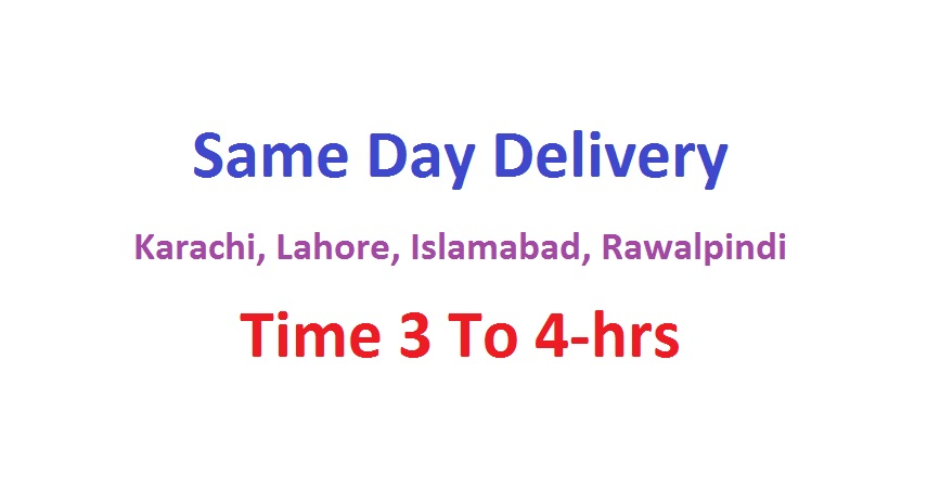 Same Day Delivery in Pakistan